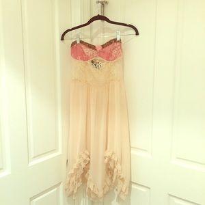 Vintage Free People Ballerina Slip Dress